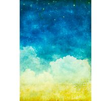 cloud and sky Photographic Print