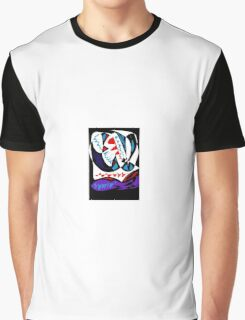Colorful Digital Abstract  Graphic T-Shirt
