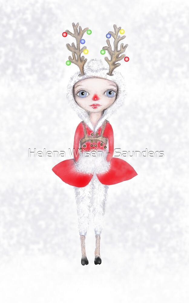 Rudolphina The Reindeer Princess by Helena Wilsen - Saunders