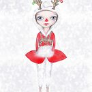 Rudolphina The Reindeer Princess by Helena Wilsen - Saunders