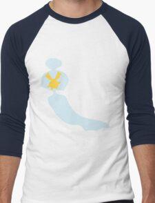 PKMN Silhouette - Chingling Family Men's Baseball ¾ T-Shirt