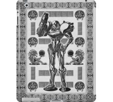 Metroid Samus Aran Geek Line Artly iPad Case/Skin