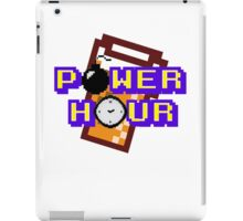 8-Bit Power Hour iPad Case/Skin