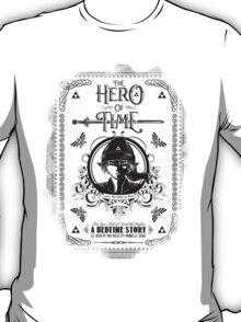 Legend of Zelda Link Hero of Time Geek Line Artly T-Shirt
