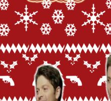 Supernatural Christmas Sticker