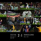 Celtic Fc v Barcelona Fc by gezzamondo