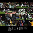 Celtic Fc v Barcelona Fc by gezzamondo