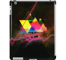 Collissions in Color Art Poster iPad Case/Skin