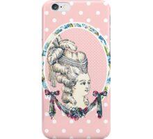 Pink Retro Vintage Marie Antoinette iPhone Case/Skin