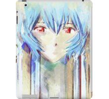 Ayanami Rei Evangelion Anime Tra Digital Painting  iPad Case/Skin