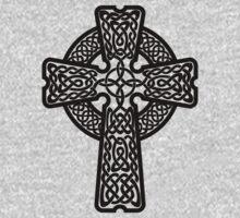 Celtic Cross in black by chromedreaming