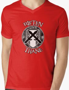 Riften Thane Mens V-Neck T-Shirt