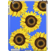 Ipad case - Sunflowers Mid Blue iPad Case/Skin
