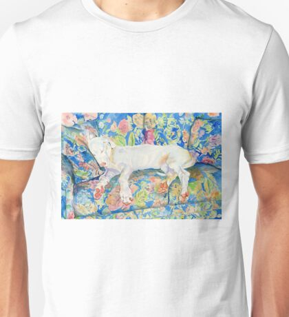 Zoe the Great Dane Pup #2 Unisex T-Shirt