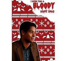 HTGAWM - Bloody good Christmas [Wes] Photographic Print
