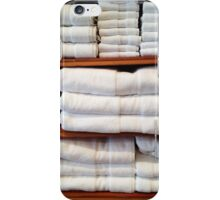 White Towels iPhone Case/Skin