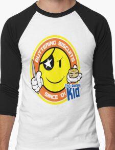 Th3AverageKid Buttering Biscuits Since '01 Men's Baseball ¾ T-Shirt