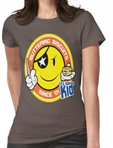 Th3AverageKid Buttering Biscuits Since '01 Womens Fitted T-Shirt