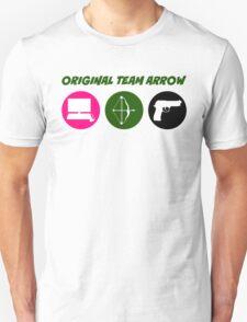 Original Team Arrow - Colorful Symbols - Weapons T-Shirt