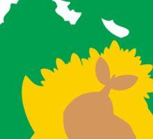 PKMN Silhouette - Turtwig Family Sticker