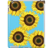 Ipad case - Sunflowers Light Blue iPad Case/Skin