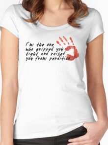 SUPERNATURAL - Gripped you tight Women's Fitted Scoop T-Shirt