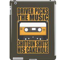 SUPERNATURAL - Driver Picks the Music.. iPad Case/Skin