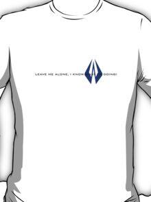 Kimi Raikkonen - I Know What I'm Doing! - Finnish Colours T-Shirt