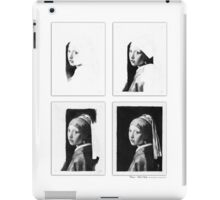 iPad Case - Vermeer Pencil Study 4 x 4 White iPad Case/Skin