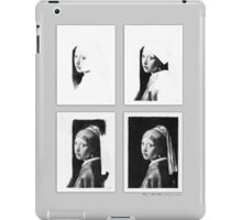 iPad Case - Vermeer Pencil Study 4 x 4 Grey iPad Case/Skin