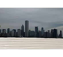 Chicago beach Photographic Print