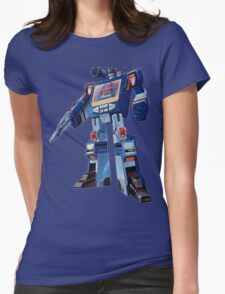 Soundwave Reporting Womens Fitted T-Shirt