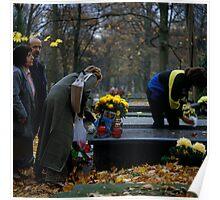 Powązkowski cemetery, Warszawa 2004 Poster