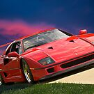 Ferrari F40 by DaveKoontz