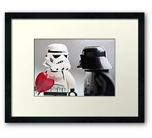 Tell someone you love them Framed Print