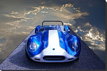 Vintage Lister-Cambridge Race Car 2 by DaveKoontz