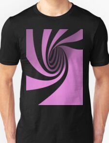 Purple Swirl Unisex T-Shirt