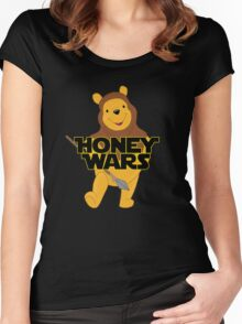 Honey Wars Women's Fitted Scoop T-Shirt