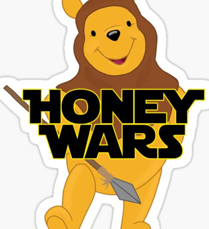 Honey Wars Sticker