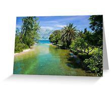 Deserted Paradise - Travel Photography Greeting Card