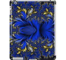 Peacock Ore - Royal Silver Blues iPad Case/Skin