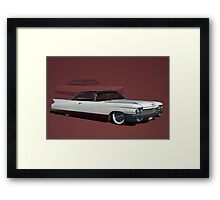 1960 Cadillac Coupe DeVille Low Rider Framed Print