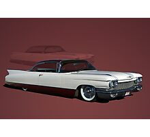 1960 Cadillac Coupe DeVille Low Rider Photographic Print