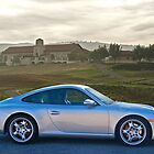 Porsche 911 Turbo at Golf Course by DaveKoontz