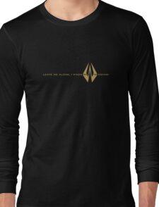 Kimi Raikkonen - I Know What I'm Doing! - Lotus Gold Long Sleeve T-Shirt