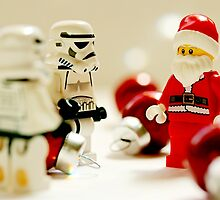 Santa's little troopers by puppaluppa