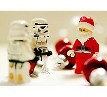 Santa's little troopers Photographic Print