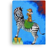 Circus ~ Part Two Canvas Print