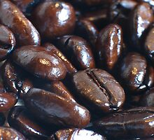 Coffee Bean iPad case by Jnhamilt