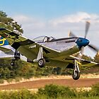 """P-51D Mustang 44-72035 G-SIJJ """"Jumpin'-Jacques"""" by Colin Smedley"""